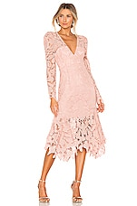 THURLEY Waltz Dress in Blush