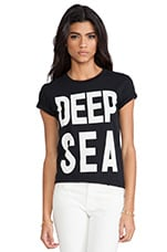 BEHATI x thvm Black Deep Sea Tee in Black