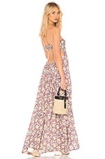 Tiare Hawaii Kai Maxi Dress in Tropical Mauve