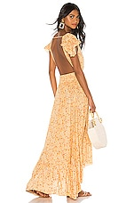 Tiare Hawaii New Moon Maxi Dress in Love Spell Creme