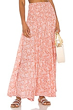 Tiare Hawaii Rock Your Gypsy Soul Skirt in Love Spell Rose