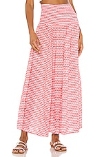 Tiare Hawaii Rock Your Gypsy Soul Skirt in Sleet Rose