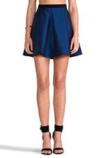 Simona Jacquard Skirt in Sapphire