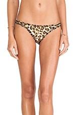 Havana Bikini Bottom in Earthy Leopard