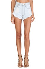 Scallop Basic Cut Offs in Light Stone