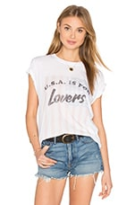 T-SHIRT AMERICA IS FOR LOVERS