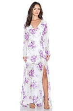 ROBE MAXI SWEET FLORAL