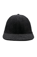 The North Face Cryos Cashmere Ball Cap in TNF Black Heather