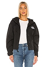 The North Face Reign On Cropped Jacket in TNF Black