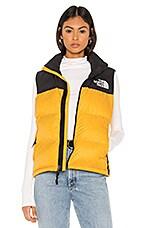 The North Face 1996 Retro Nuptse Vest in TNF Yellow