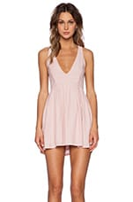 Under the Stars Dress in Blush Pink
