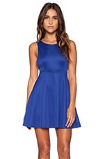 Avril Skater Dress in Cobalt Blue