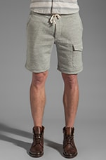 Knit Short in Grey Heather