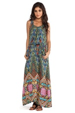 Tolani Anne Maxi Dress in Brown