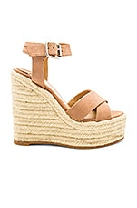 Tony Bianco Boston Wedge in Caramel Phoenix