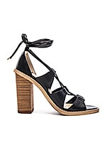 Kristen Heel in Black Monaco