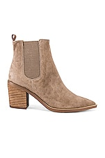 Tony Bianco Sabrine Bootie in Natural Kid Suede