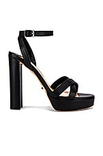 Tony Bianco Liv Platform in Black Capretto