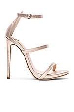 Tony Bianco Atkins Heel in Rose Gold Matt Metallic