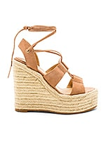 Tony Bianco Biba Wedge in Caramel Phoenix
