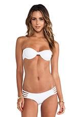Kenny Bikini Top in White
