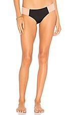 Tori Praver Swimwear Macie Beaux Bottom in Black