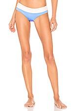 Tori Praver Swimwear Cammie Bottom in Capri Blue