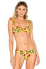 Tori Praver Swimwear Vada Top in Saffron