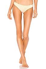 Tori Praver Swimwear Mimi Bottom in Saffron