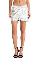 Torn by Ronny Kobo Jonah Shorts in Silver