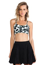 Adira Top in Multi Green