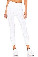 TLA by Morgan Stewart Quartz Leggings in White Floral Print