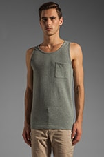 Andrew Tank in Heather Grey