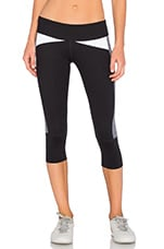 Power Legging in Black Grey & White