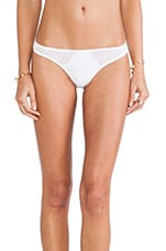 Jarret Cutout Mesh Bottom in White