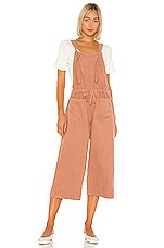 Birds of Paradis by Trovata Kasmir Overall in Blush