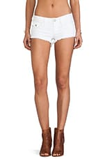 Joey Cut Off Short in Optic White