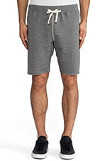 Sweatshort in Charcoal