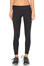 Bermuda Full Length Legging en Noir