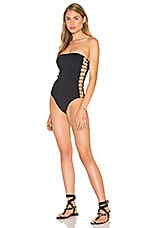 Bandeau One Piece en Noir