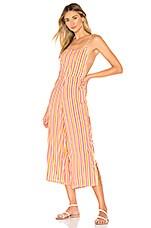 Tularosa Andi Jumpsuit in Pink & Yellow Stripe