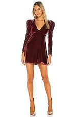 Tularosa Sawyer Dress in Wine