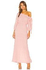 Tularosa Bet Dress in Blush Pink