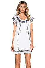 Tularosa Lila Tunic Dress in White