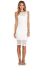 Alba Dress in White