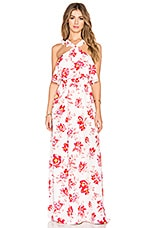 Tularosa x REVOLVE Santorini Maxi Dress in Fuchsia Bloom