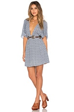 Tularosa x REVOLVE Faith Dress in Blue Ditsy