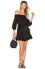 Tularosa Maida Ruffle Dress in Black