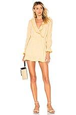 Tularosa Charleston Dress in York Yellow