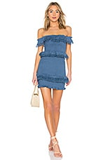 Tularosa Teri Dress in Horizon Blue